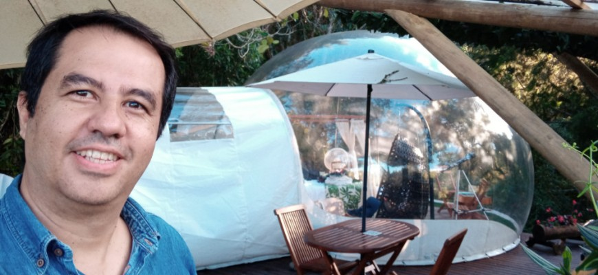 0 Glamping Bubble Sky