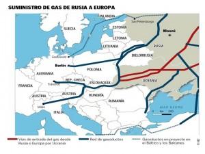 gasoductos de Rusia.