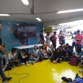 Taller de Prensa Escuela en la Parada Juvenil
