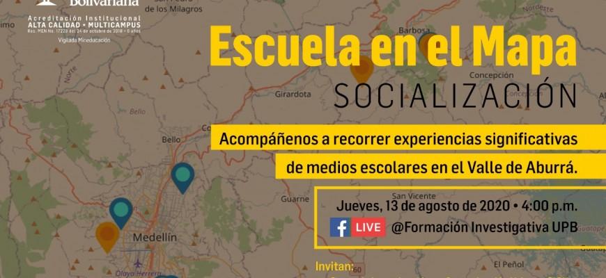 SOCIALIZACION ESCUELA EN EL MAPA